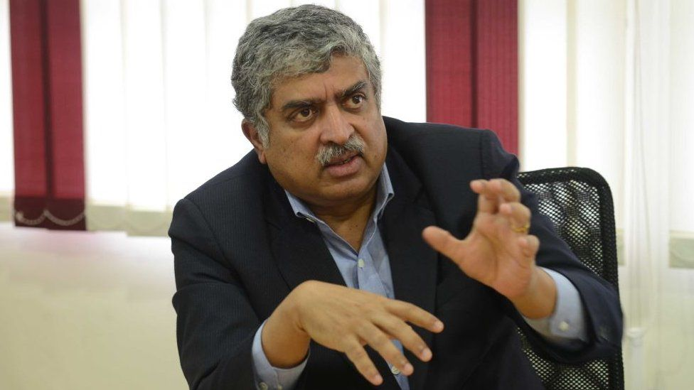 Nandan Nilekani, Chairman of the Unique Identification Authority of India, photographed at Better Place office in Bangalore.