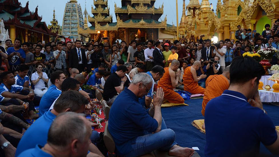 Leicester City joins in prayers with Buddhists
