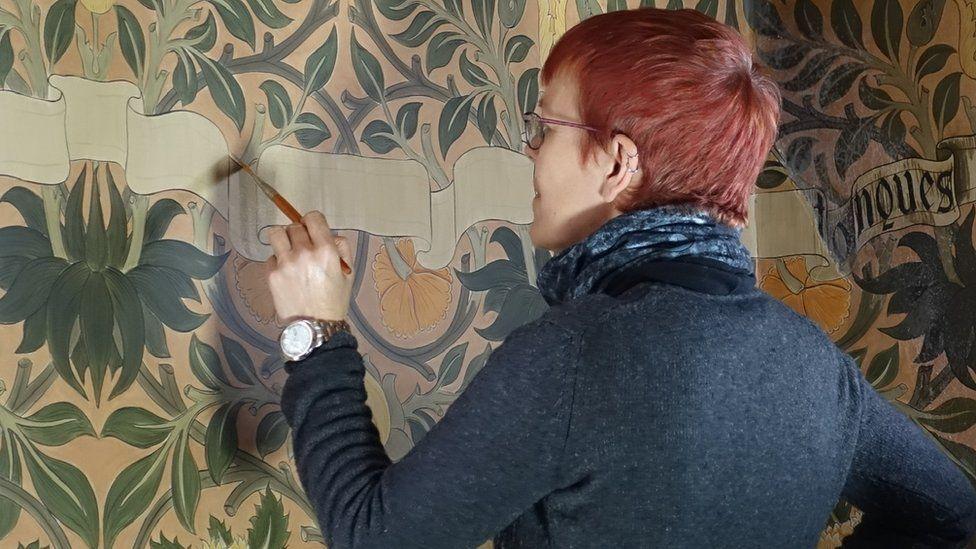 Saskia Huning at work