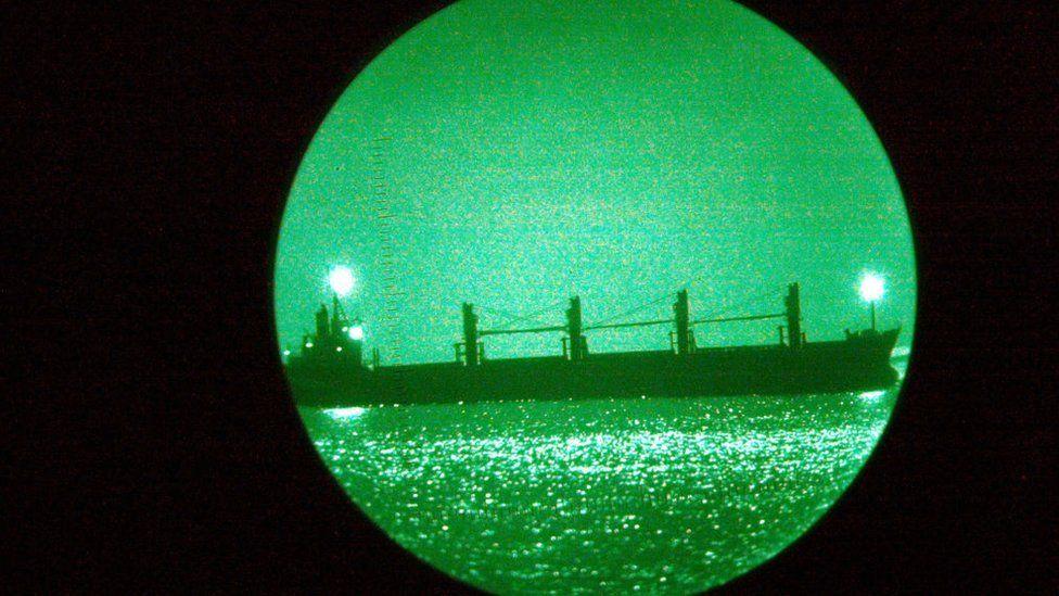 O 'mistério' dos navios petroleiros chineses que desaparecem dos radares no Golfo Pérsico