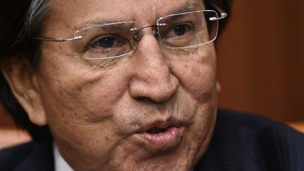 Former President of Peru Alejandro Toledo