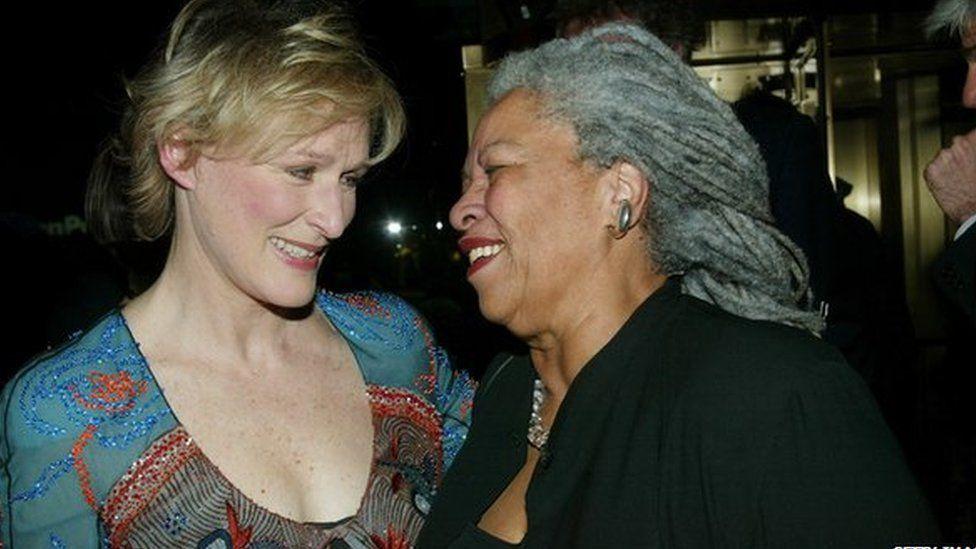 Toni Morrison and Glenn Close