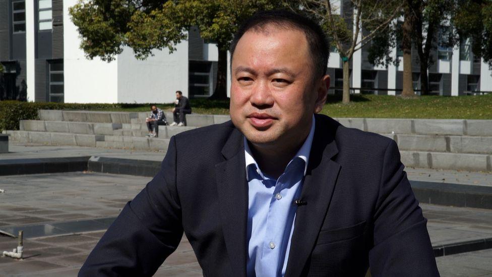 Frank Liu, head of Intco in Shanghai?