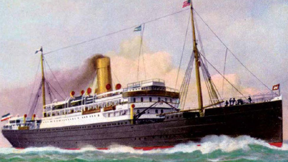 El crucero alemán que hace 100 años fue hundido en Colombia por su propia tripulación