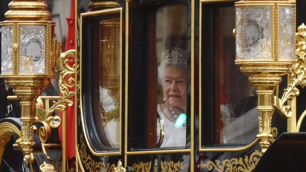 Queen at state opening
