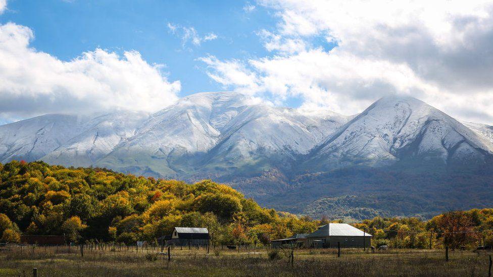 Dagestan's Salatau mountain range