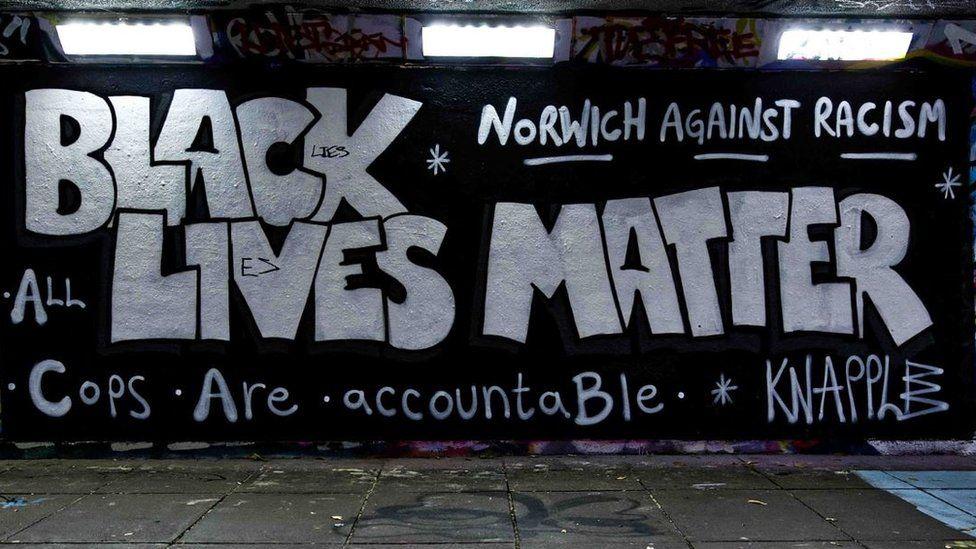 Graffiti in Norwich