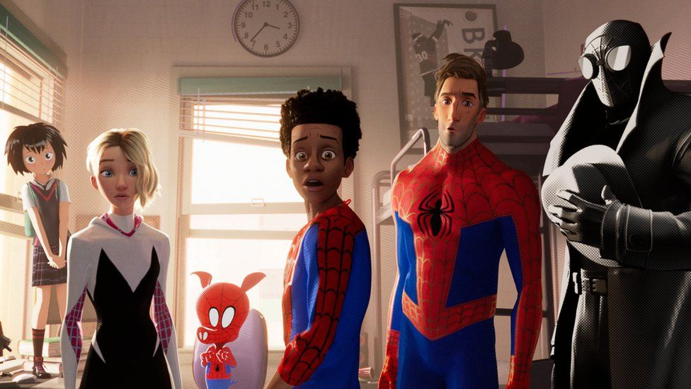 Into the Spider-Verse Characters