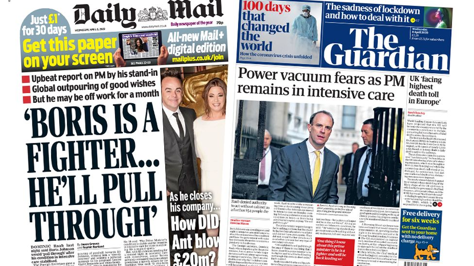 The Papers 8 April 2020