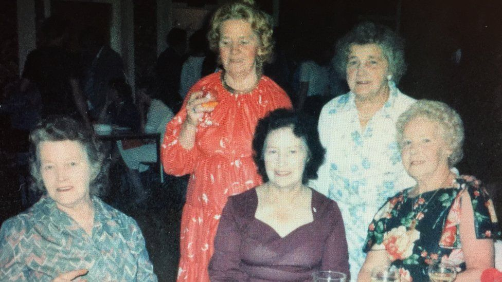 Laura Wiltsher (far right) and her sisters taken in about 1980