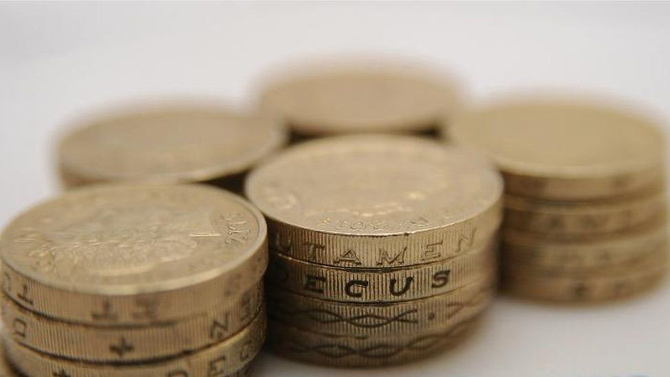 Old £1 coins