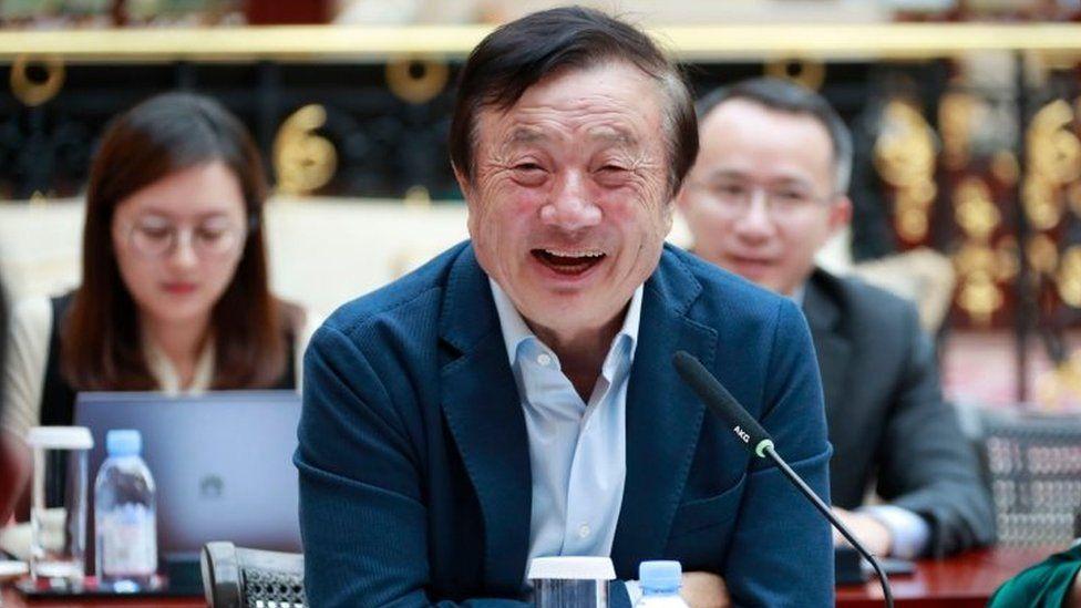 Dono sai em defesa da Huawei: 'Os EUA não têm como nos destruir'