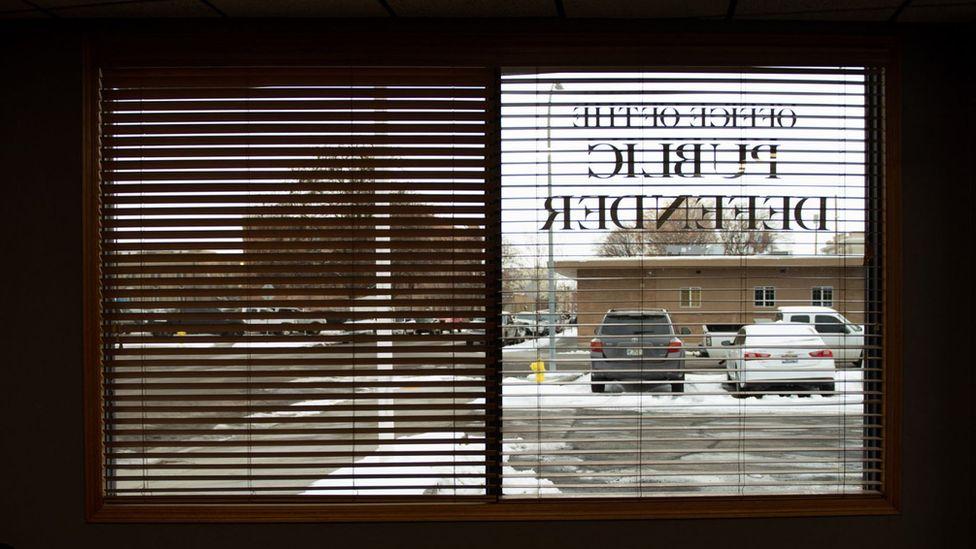 Oficina del defensor público de Idaho Falls.