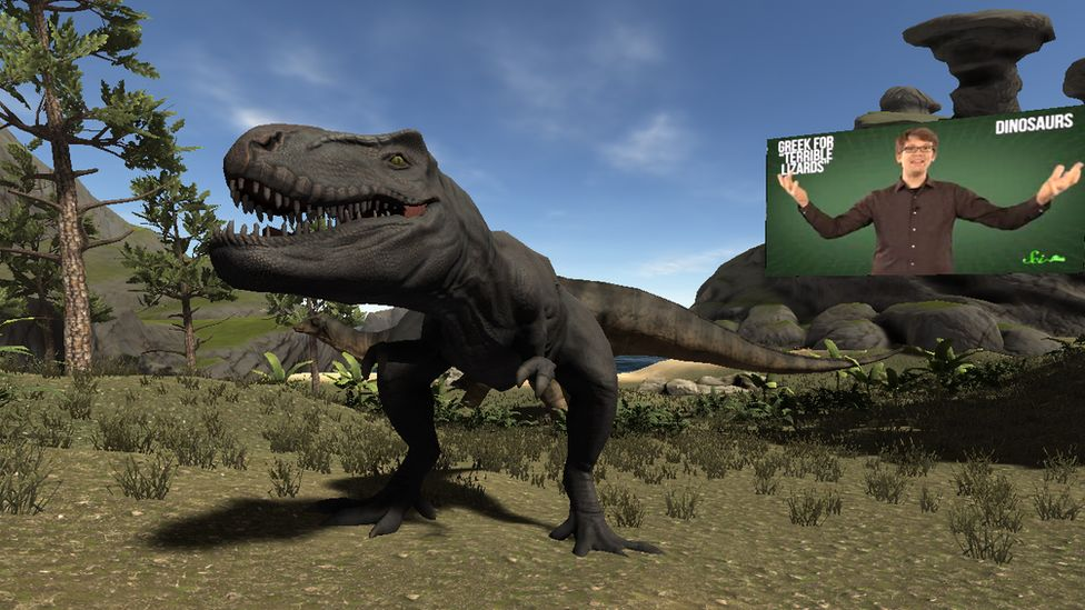 Graphic of dinosaur