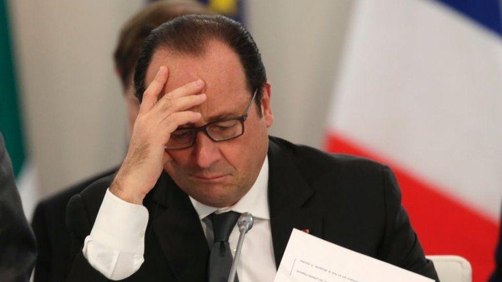 French President Francois Hollande. File photo