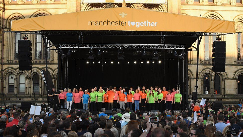 Mnchester bombing commemorations 2018