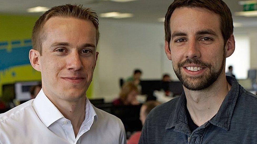 Jon Reynolds and Ben Medlock
