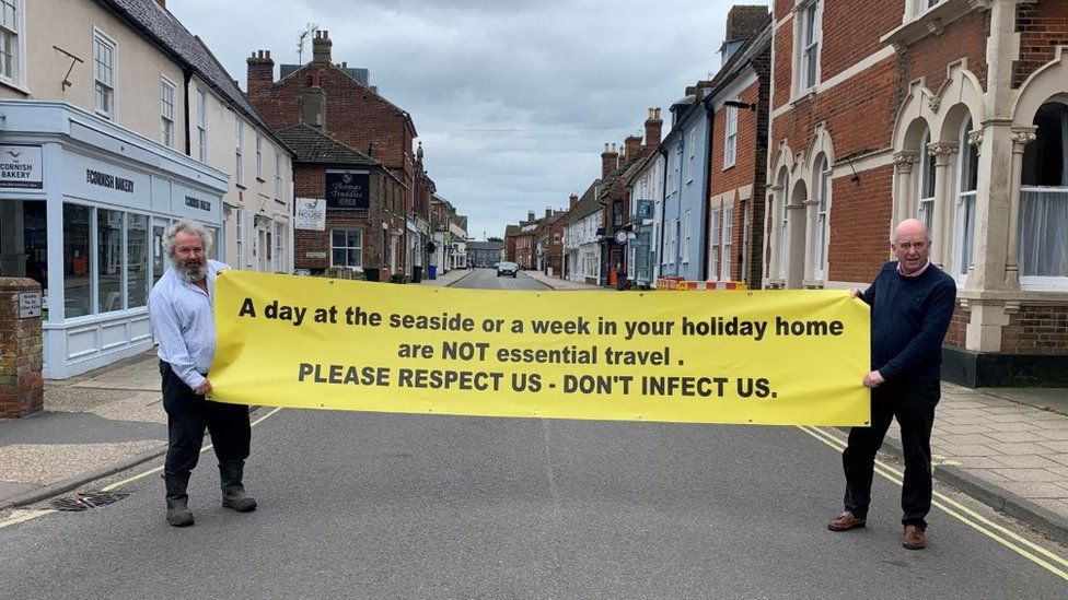 Banner in Southwold