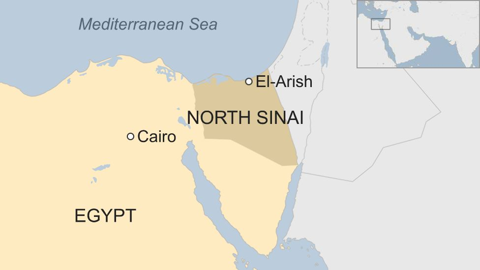 Egypt police killed in IS attack on Sinai checkpoint - BBC News