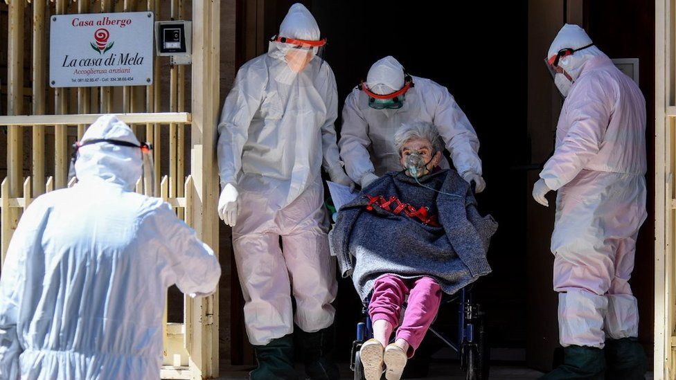 This Naples nursing home was evacuated on Thursday in an attempt to stop the virus spreading
