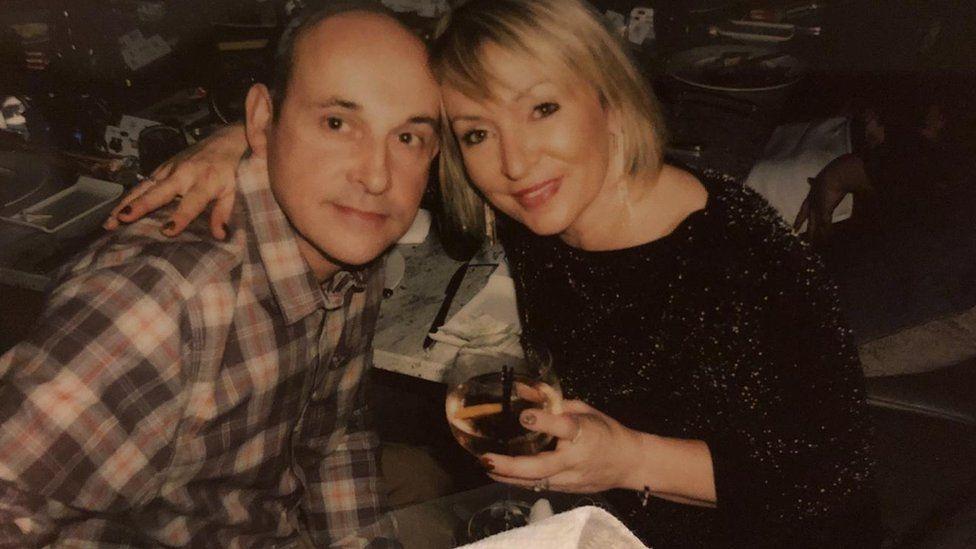 Susan Herdman and her partner Andrew Hornshaw