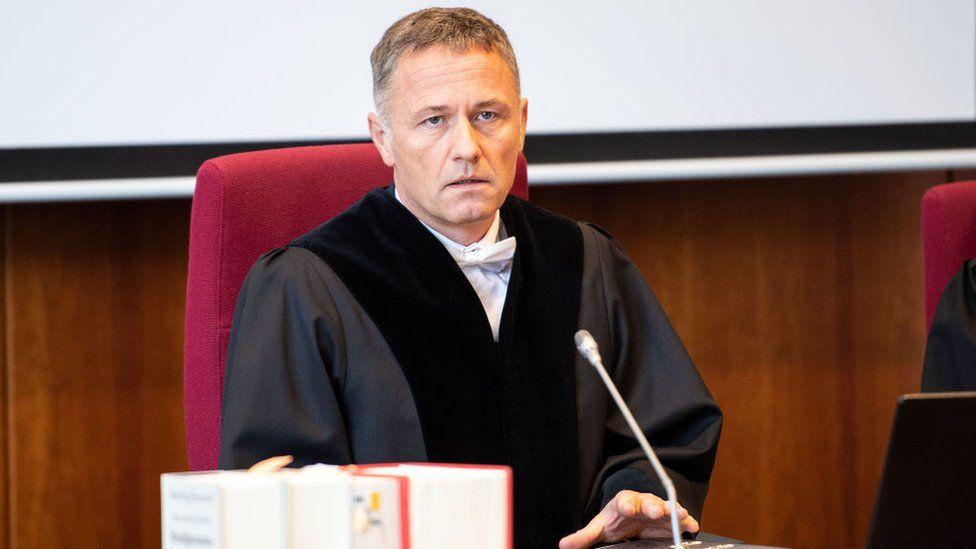 German judge Roland Zickler in March 2020