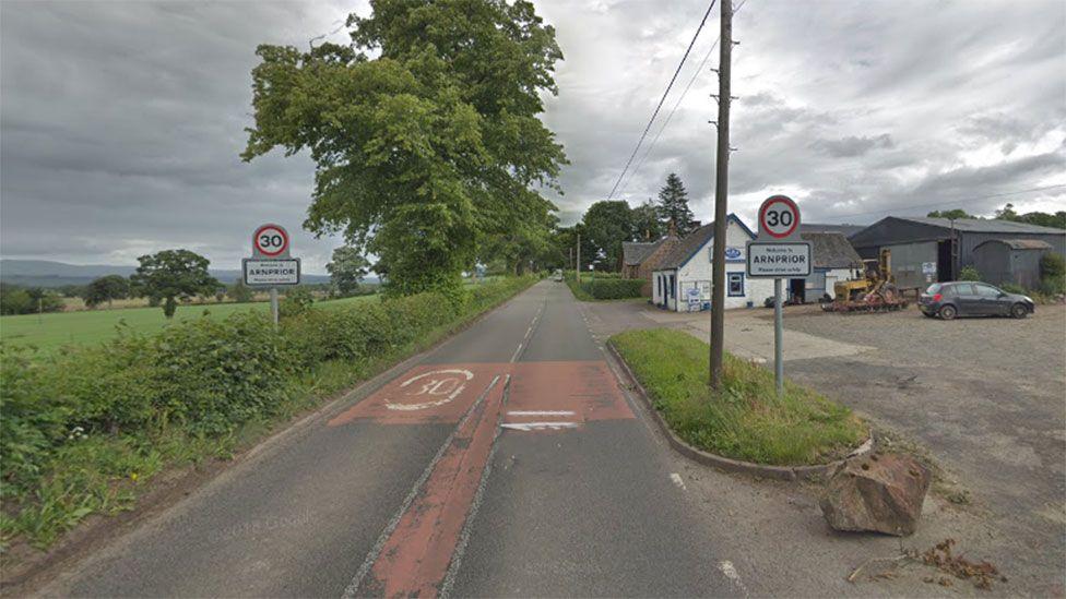Road near Arnprior