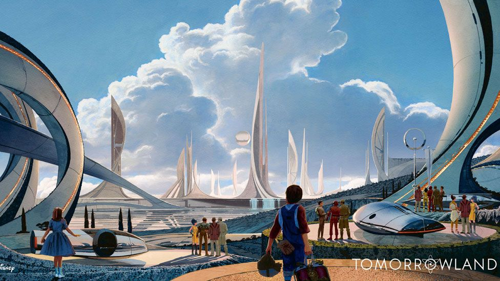 Mead also made designs for the 2015 Disney sci-fi mystery adventure film Tomorrowland