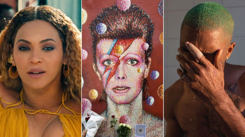 Beyonce, David Bowie and Frank Ocean