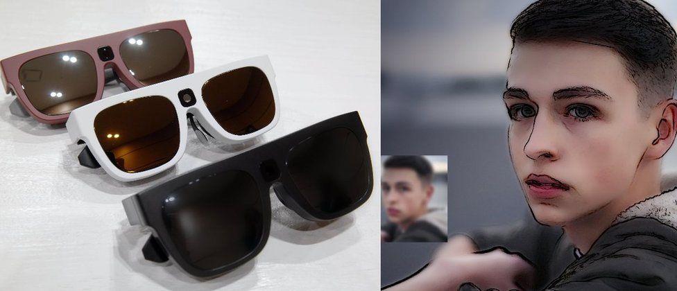 Relumino glasses