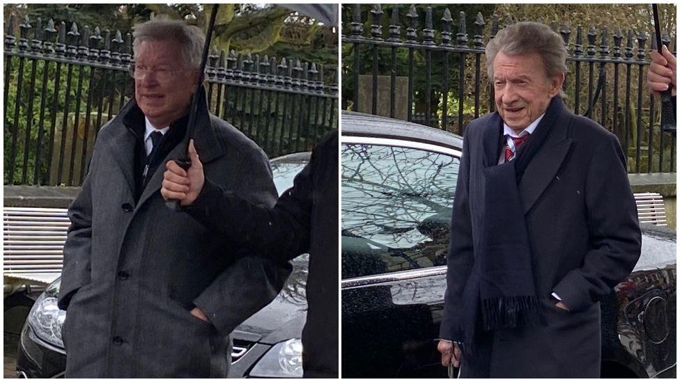 Alex Ferguson and Denis Law