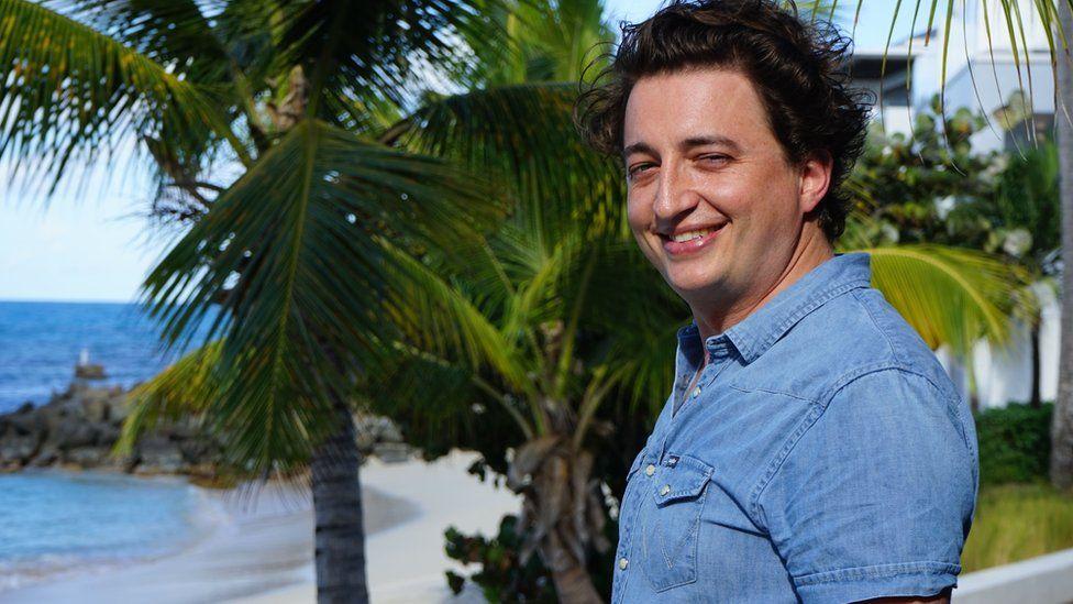 Director Benh Zeitlin in Antigua