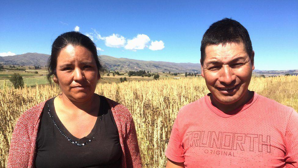 Yudy Cisneros and Fredy Bautista