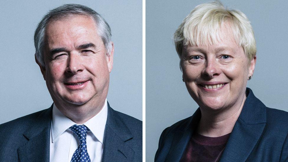 Geoffrey Cox, Angela Eagle