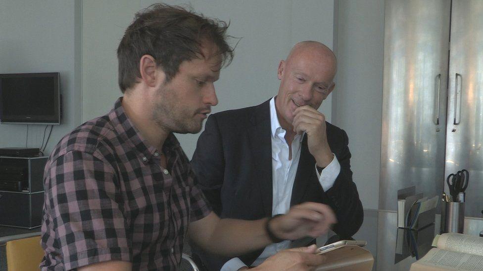 Markus Hibbeler with Joachim Steinhoefel