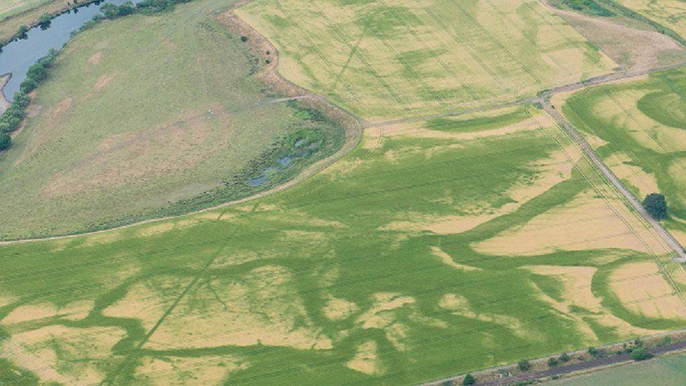 Roman camp at Strathearn