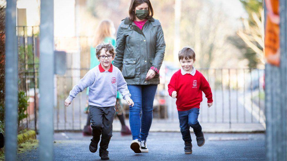 pupils return to school
