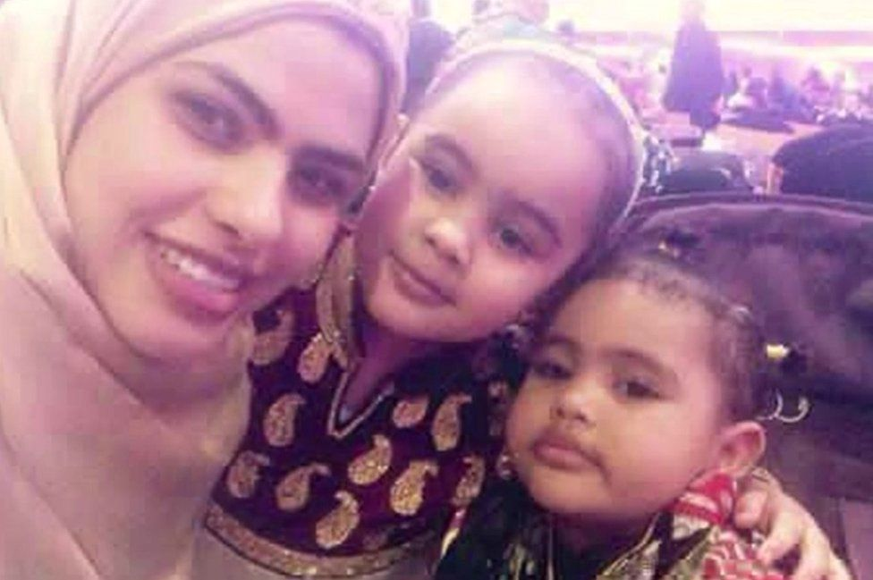 Rania and daughters
