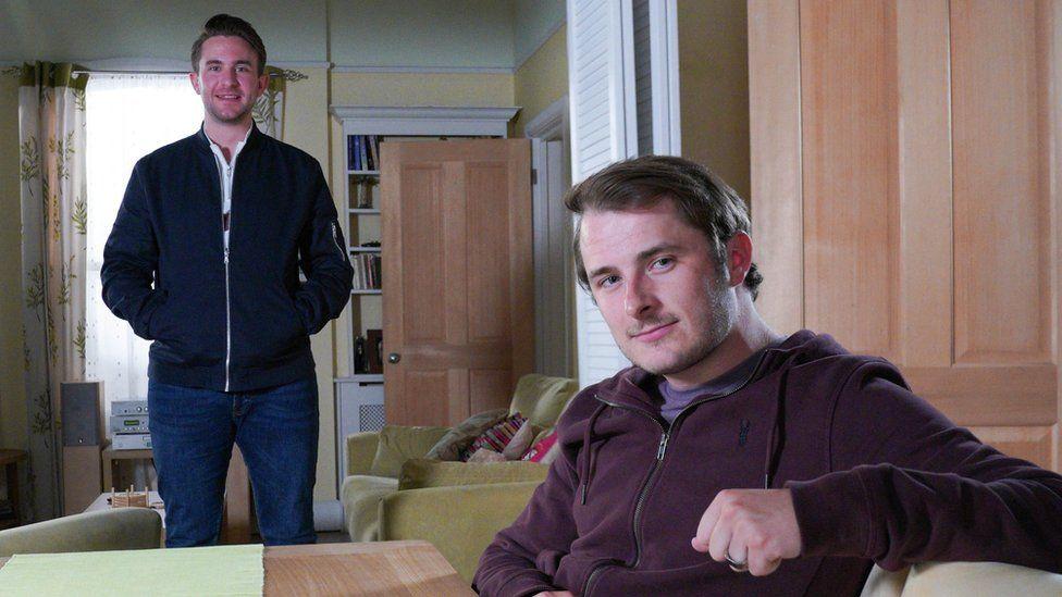 Tony Clay and Max Bowden