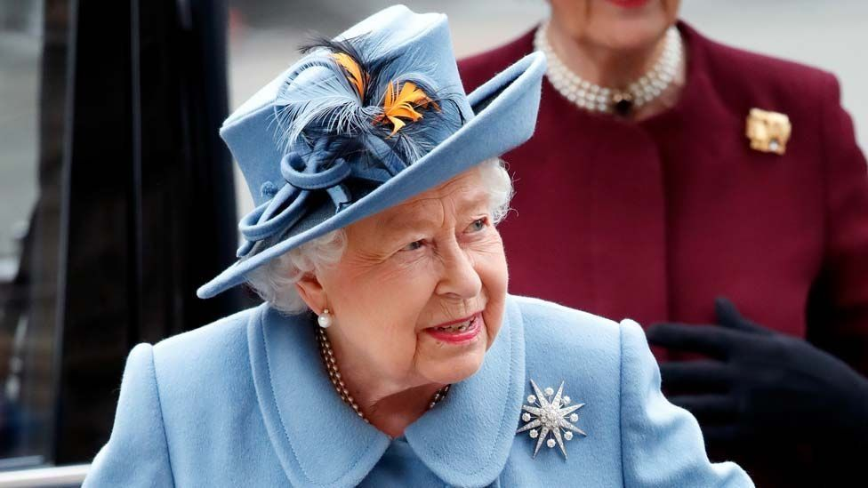 File picture of the Queen