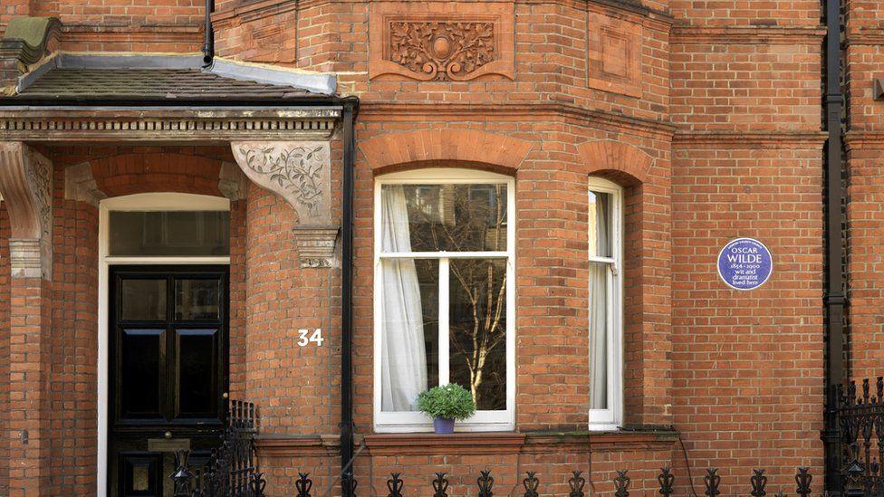 Oscar Wilde's Kensington house