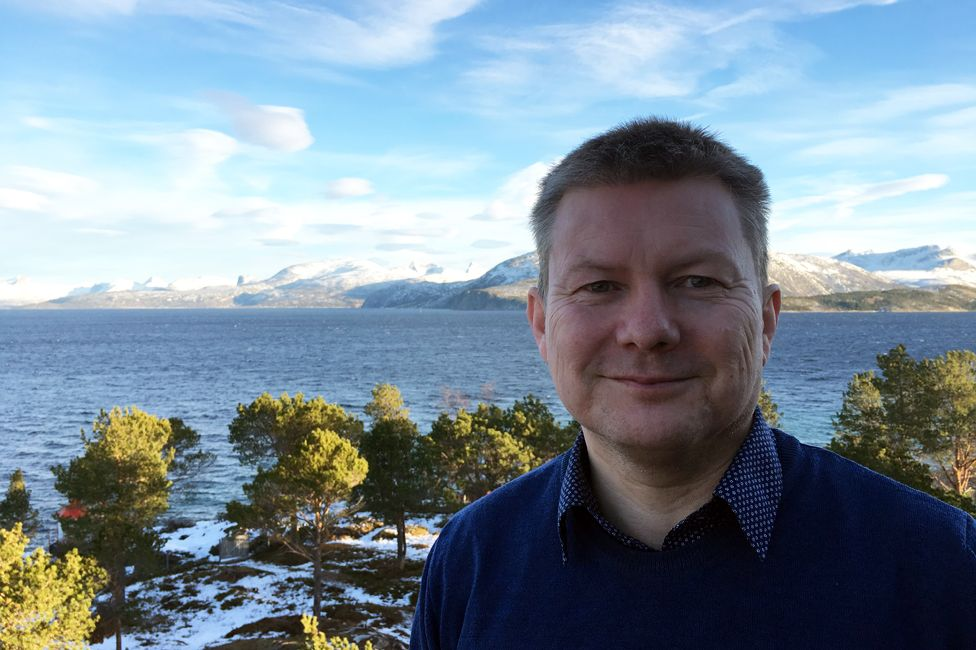 Lars Magne Andreassen, director of Arran, the Sami community centre in Drag