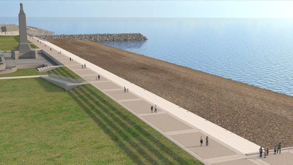 An artist's impression of Southsea Common