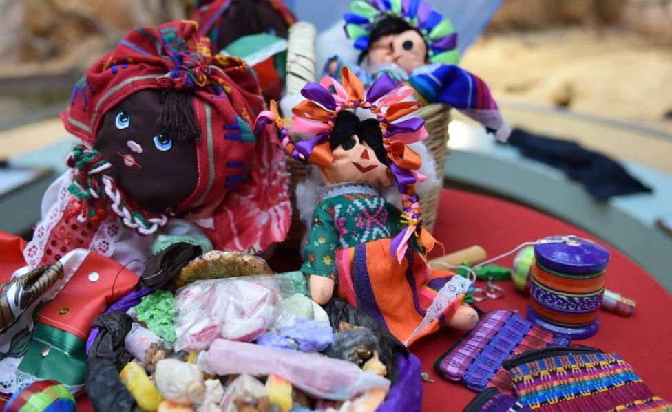Seized toys and sweets from Mexico
