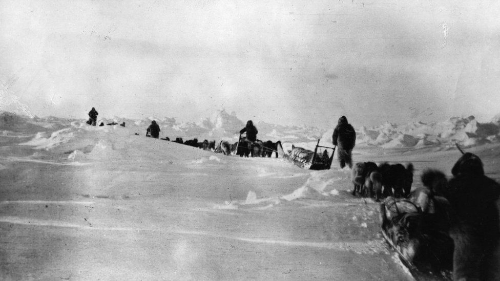 Robert Peary's 1909 expedition to the North Pole