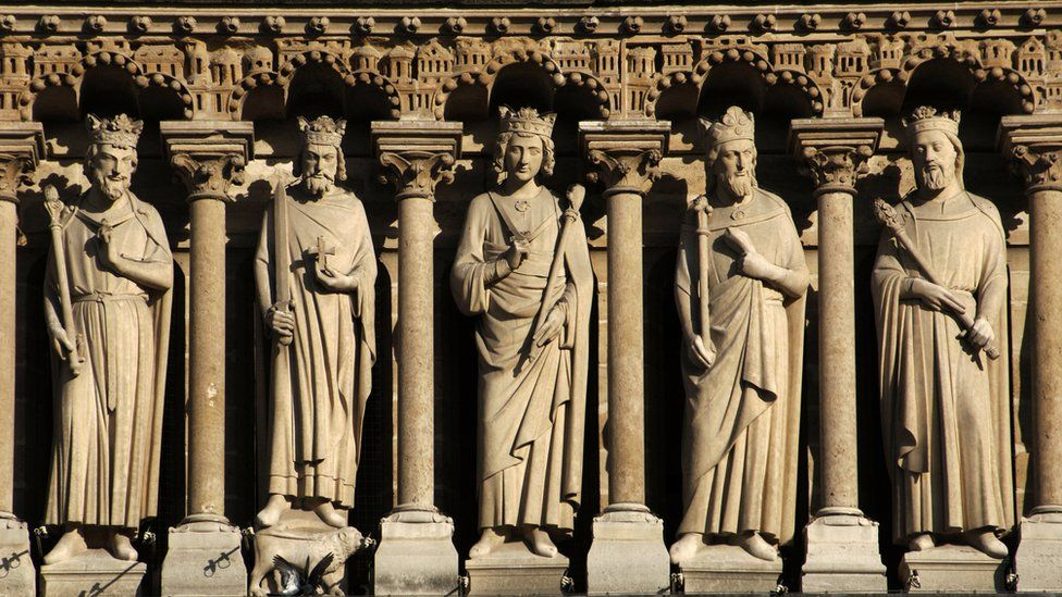 Gallery of Kings at Notre Dame