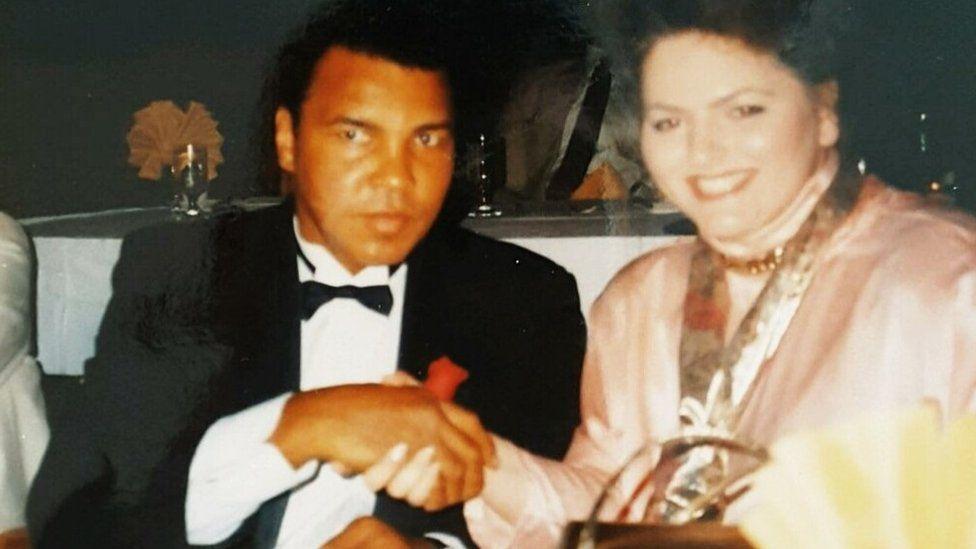 Stephanie with Ali