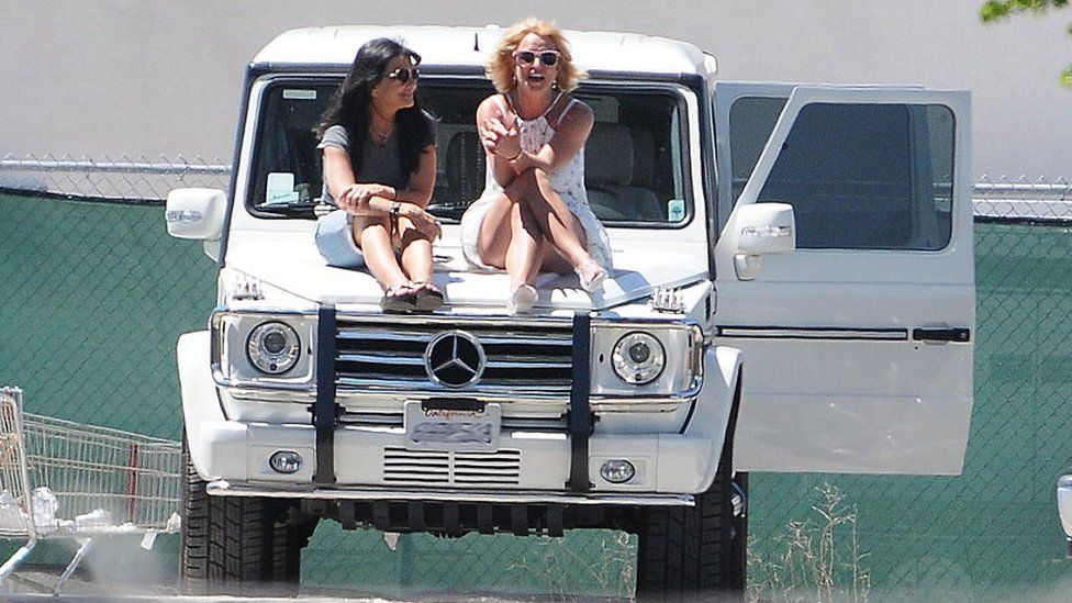 Lynne and Britney Spears