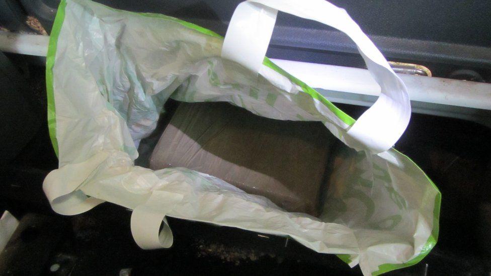 drugs in bag