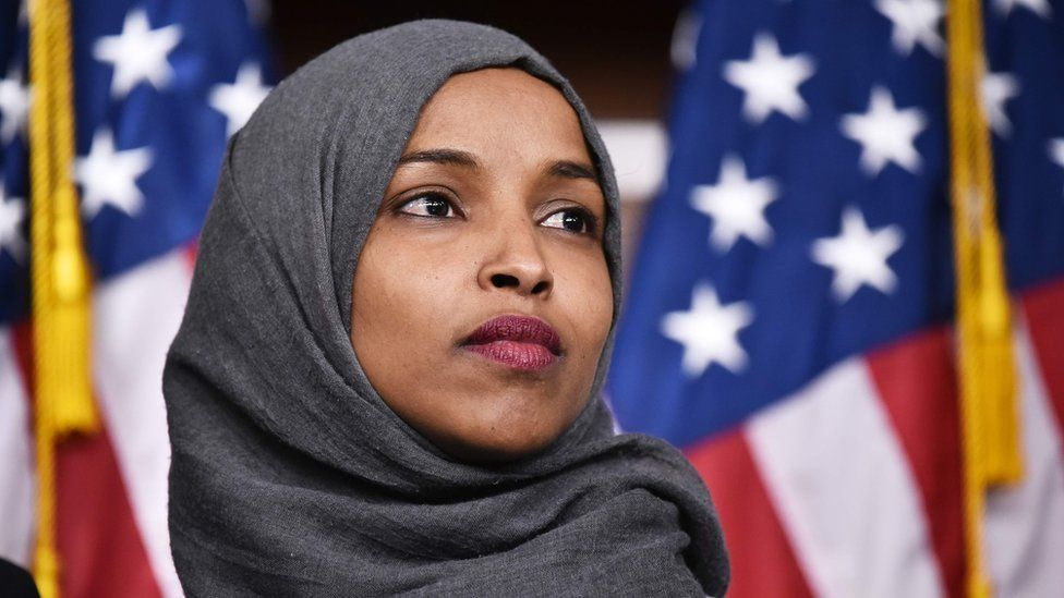 US Congresswoman Ilhan Omar